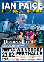 Demon's Eye with Ian Paice live
